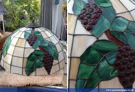ap stained glass andrew patch design and restoration tiffany style glass lampshades 3