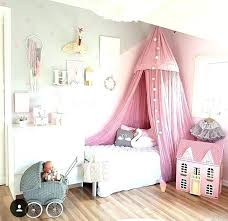 Little Girl Canopy Beds Toddler Bed Best Ideas On Pink Curtains For ...