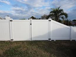 vinyl fence double gate. Vinyl Fence Double Gate S