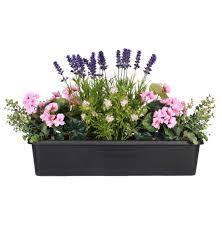 Artificial Window Summer Garden Artificial Window Box Blooming Artificial
