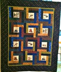 Linda's Quiltmania: Mark's Fly Fishing Quilt & Mark's Fly Fishing Quilt Adamdwight.com