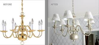 anyway back to the chandelier i m happy with how it turned out here is the before after