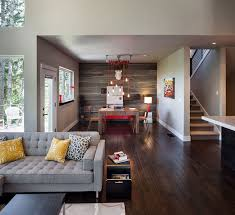 Modern Home In Eugene Oregon By Jordan Iverson Signature Homes - Modern rustic dining roomodern style living room furniture