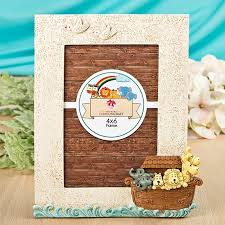 fashioncraft delightful noah s ark 4x6 frame personalized gifts and party favors