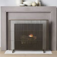 modern fireplace screen modern fireplace screen this tips contemporary glass fireplace doors best design interior