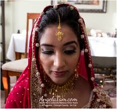 orange county south asian bridal makeup artist team angela tam indian wedding makeup artist and hair stylist angela tam wedding