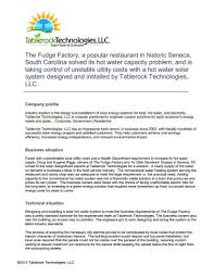 The Fudge FactoryTablerock Technologies Your South Carolina - Home solar power system design