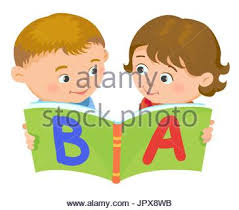 black woman to read a book icon cartoon kids reading book boy isolated vector ilration european stock photo