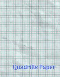 Quadrille Paper Quad Rule Graph Paper 8 5 X 11 4x4 Graph Paper 100 Pages Paperback
