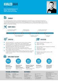 Resume of brand strategist 1 Infographic