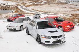 Greatest Mitsubishi Evos tested | Evo