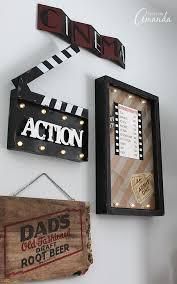 15 cinema room wall art theater room decor ideas media d on interior design amazing