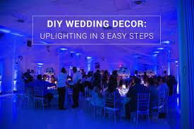 diy wedding reception lighting. DIY Wedding Décor: Uplighting In 3 Easy Steps By Rent My Diy Reception Lighting 8