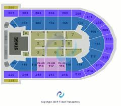 Mohegan Sun Arena Wilkes Barre Seating Chart With Rows Mohegan Sun Arena Seating Chart