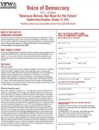 programs  vfw org media vfwsite files community youth and education voice of democracy student entry form and brochure pdf la en