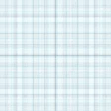 Vector Blue Metric Graph Paper Seamless Pattern 1mm Grid Accented