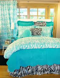 bedroom ideas for girls zebra. Fascinating Turquoise Bedding Sets \u2013 Add A Fresh Touch To The Bedroom :  Zebra Pattern Bedding Ideas For Girls Zebra