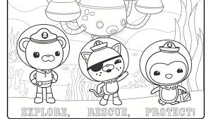 Small Picture Octonauts Coloring Page The Octonauts Find A Happy Pearl Coloring
