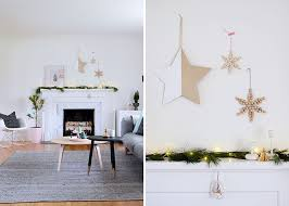 30 Modern Christmas Decor Ideas For Your Home // A simple garland of  natural greenery