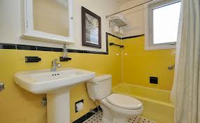 Pictures Of Yellow Bathrooms Zen Shmen How To Stage An Old Bathroom