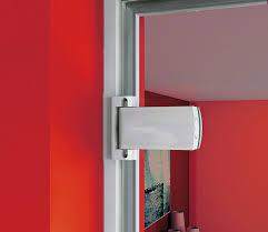 glass door hinge steel biloba 8060