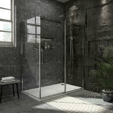 details about bath 60 x36 x72 frameless 5 16 tempered glass sliding shower door enclosure