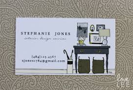 Business Card Examples For Interior Designers Business Card Design Lee Owens Design Business Card