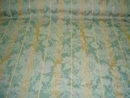Home Decor Closeouts Additional Views Closeout Aqua Tan Damask Stripe Home Decor Fabric