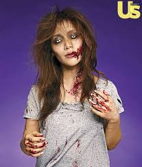 Walking dead zombie face paint challenge! Michelle Phan Creates The Walking Dead Zombie Makeup For Halloween
