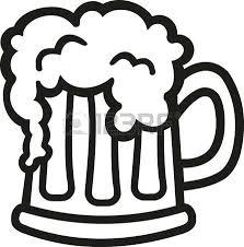 mug clipart black and white. beer mug: cartoon mug clipart black and white