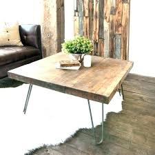 hairpin coffee table round hairpin coffee table interior reclaimed scaffold side legs by leg bedside wooden hairpin coffee table