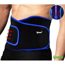 IPOW Back Brace Lower Pain Strap Decompression Belt with Lumbar Support Workout Compression Abdominal