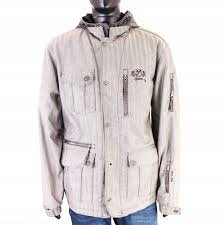 Dakota Grizzly Size Chart Details About S Iguana Mens Outdoor Jacket Aquatrail Grey L