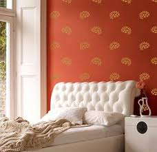 Small Picture Vinyl Wall Sticker Decal Home Indian Floral Sprigs Exotic