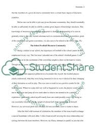 discourse community essay what is a discourse community essay  hd image of what is a discourse community essay example topics and well