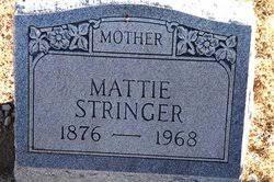 "Mary Martha ""Mattie"" Ledbetter Stringer (1877-1968) - Find A Grave ..."