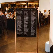 These Creative Wedding Seating Chart Ideas Will Seriously