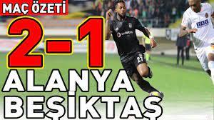 Alanya Beşiktaş Maç Özeti (2-1) - YouTube