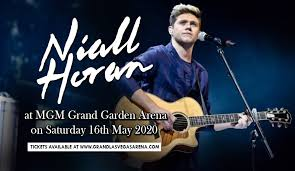 Niall Horan Seating Chart Niall Horan Tickets 16th May Mgm Grand Garden Arena In