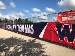 tennis court windscreens