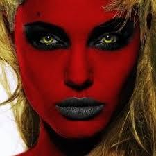 easy devil face