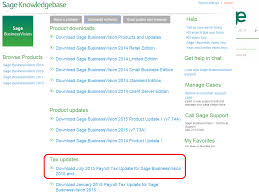 Payroll Download July 2015 Payroll Tax Update Now Available Sage