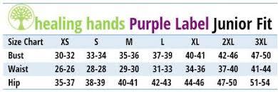 2335 Healing Hands Purple Label Jodi Top Invisible Zip