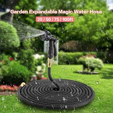 100 ft garden hose. 4 colors 100ft garden hose expandable magic flexible water plastic hoses pipe with spray 100 ft i