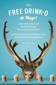 Q) is caribou coffee (7804 fairview road). Free Caribou Coolers On Drink O De Mayo May 5 Charlotte On The Cheap