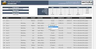Issue Tracking Template Issue Tracker Free Excel Template to Track Project Management Issues 1