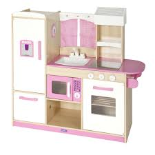 Pink Kitchen Guidecraft Play Along Pink Kitchen G97276