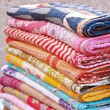 Best 25+ Kantha quilt ideas on Pinterest | Indian embroidery ... & Beautiful Kantha Quilts! Blankets made from upcycled cotton sari's The  purchase of one supports a Adamdwight.com