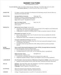 Resume For Job Example Curriculum Vitae Job Objective Sample