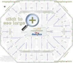 Disney On Ice Dallas Seating Chart Oracle Arena Seat Row Numbers Detailed Seating Chart